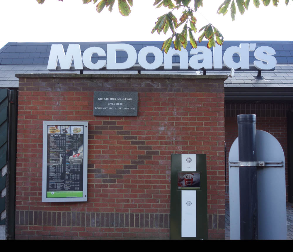 mcdonalds farnham top complaints and reviews about mcdonalds  history of surrey heath lightwater plaque plaque on mcdonald s drive in