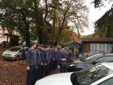 1-Air Cadets prepare for the service