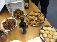 2-Lovely nibbles for Julie's retirement do