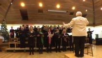 4-Surrey Heath singers plus Siemens' Zero Harmony in front row