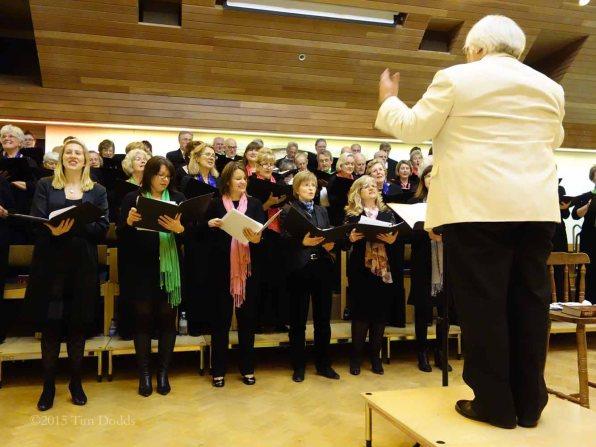 6-Both Surrey Heath Singers and Zero Harmony in voice