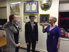 7-Young Mayor with the Mayor in the Mayor's Parlour