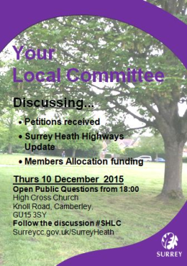 Surrey Heath Local Committee