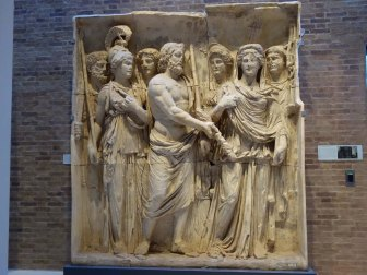 2-Cast from the Arch of Trajan at Beneventum AD114