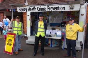 1-The Surrey Heath Neighbourhood Watch team