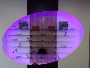 4=Display of British made frames