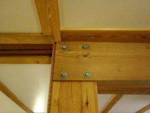 5-Interior wooden frame construction