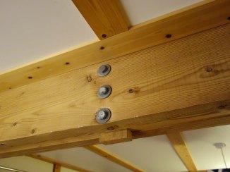 6-Interior wooden frame construction