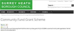 Community Fund Grant Scheme