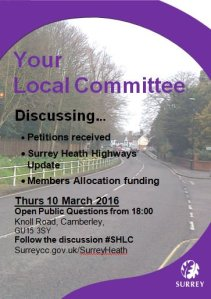 Local Committee Mar 2016