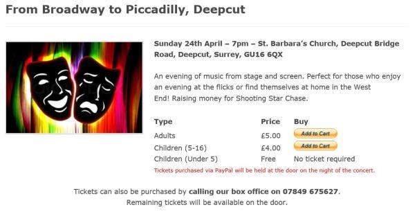 Surrey Police Band April concert