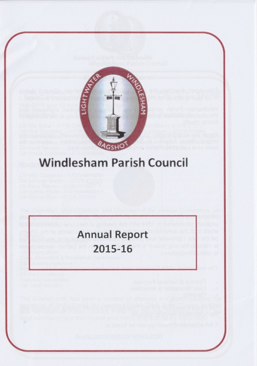 Windlesham Parish Council Annual report