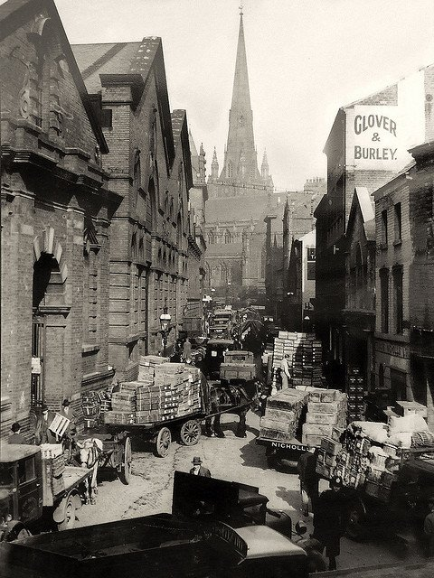 Bull Ring Markets, Birmingham, 1936