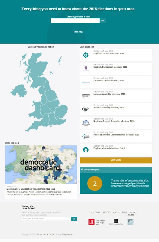 Democratic Dashboard
