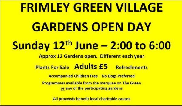 Frimley Green Gardens Open Day