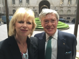 Rt Hon Anna Soubry MP and me