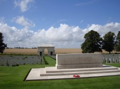 Serre No.2 Stone of Remembrance