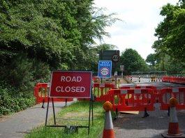 Woodlands Lane M3 Bridge_1