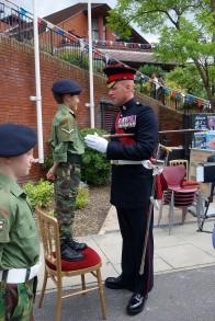 6-Academy Sergeant Major Glenn Haughton in 2014