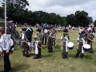 8-Girl and boy band members of the Frimley & Camberley Cadets