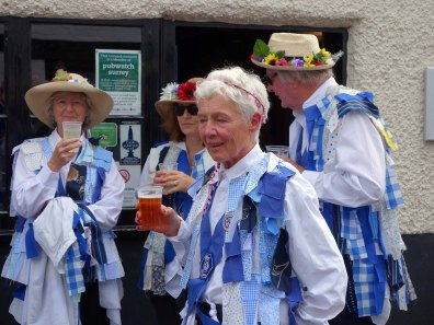 9-Refreshment for Chobham Morris members
