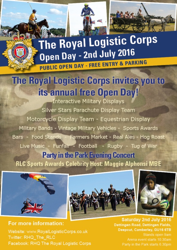 Corps Open Day Poster FINAL