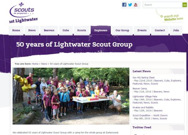 Lightwater Scouts