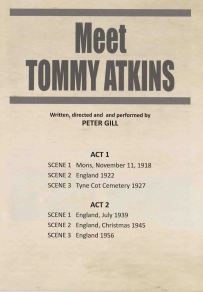 Meet Tommy Atkins play