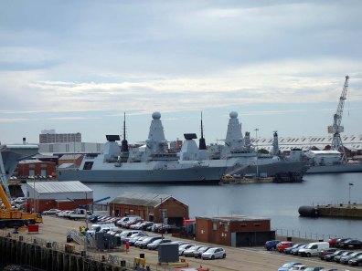 1-HMS Diamond & Dauntless & Lancaster