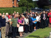 3-Service at war memorial is well supported