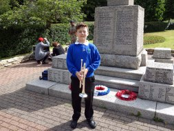 4-Young Collingwood trumpeter