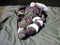 5--Army Cadet Force dummy