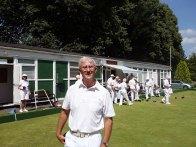 8-Peter Legg, President Of Camberley Bowling club
