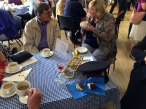 8-Returning to the Church Hall for tea and cake