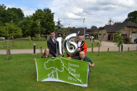 Frimley Lodge Park 2016 Green Flag Award