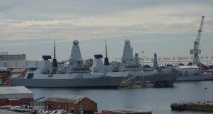 HMS Dauntless & Diamond -