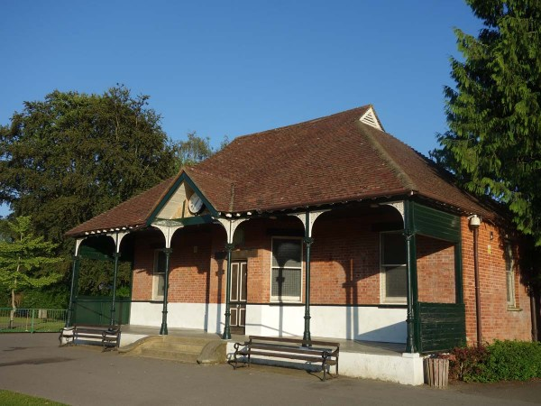 London Road recreation ground pavilion