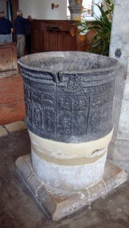 4-View of the lead font