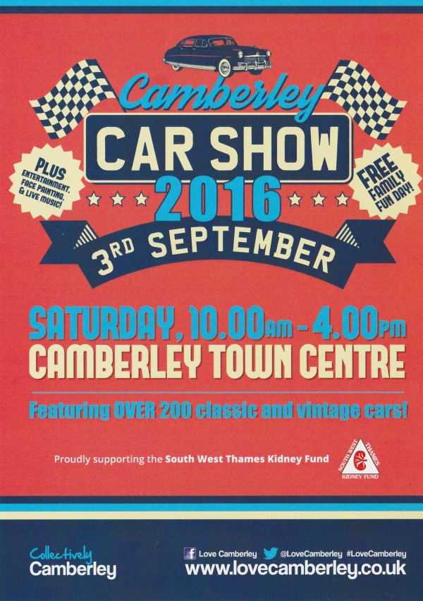 Camberley Car Show