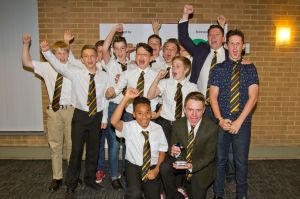 Camberley Rugby U13 boys - Young Sports Team winners 2015
