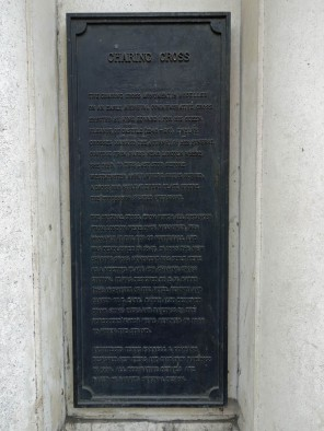 Charing Cross plaque_2
