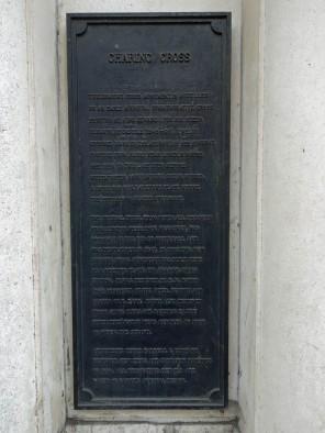 Charing Cross plaque_2