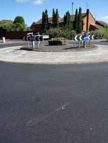 Briar Avenue new road surface