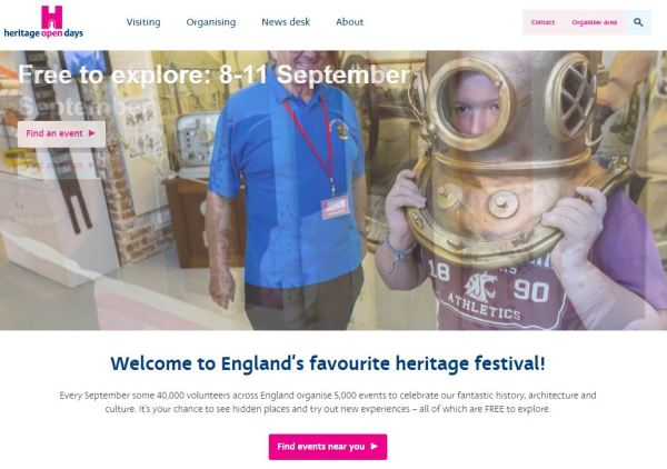 Heritage open days 2016