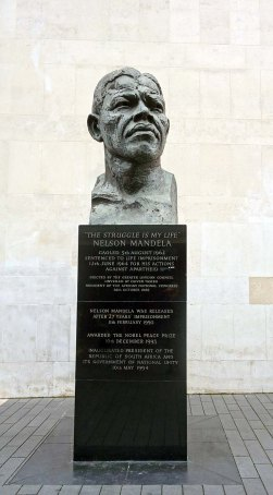 Nelson Mandela - South Bank