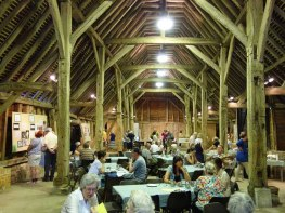 Wanborough Great Barn interior