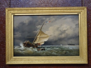 a-dutch-beurtman-aground-on-the-terschelling-sands-by-e-a-cooke-1865
