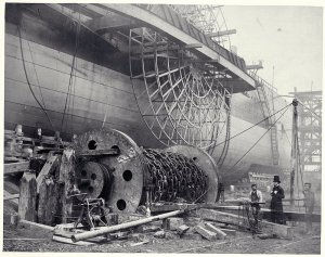 brunel-looks-at-a-launching-chain-of-the-great-eastern-in-1857-by-robert-howlett