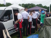 13-Sandhurst band preparing to play