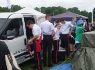 13-Sandhurst band preparing to play